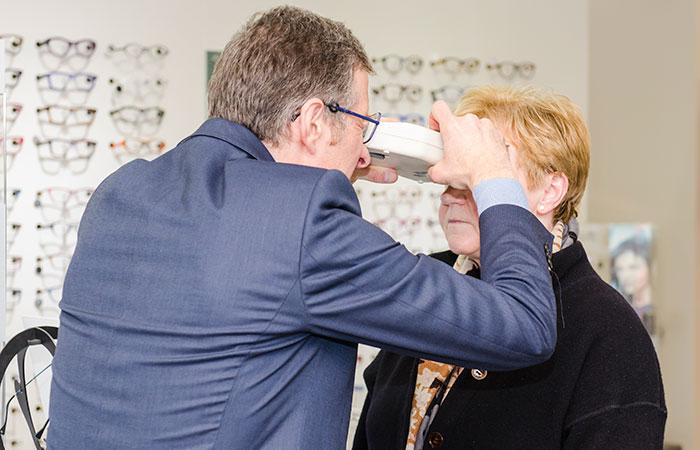 Optiek Van De Keere - Zottegem - Sterkte meting